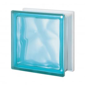 Pegasus Aquamarine Q19 Wavy 1 Side Satin Finish
