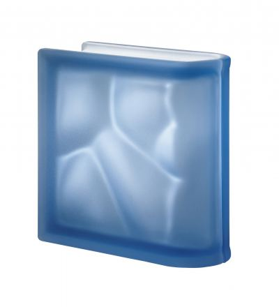Pegasus Blue Linear End Wavy Satin Finish